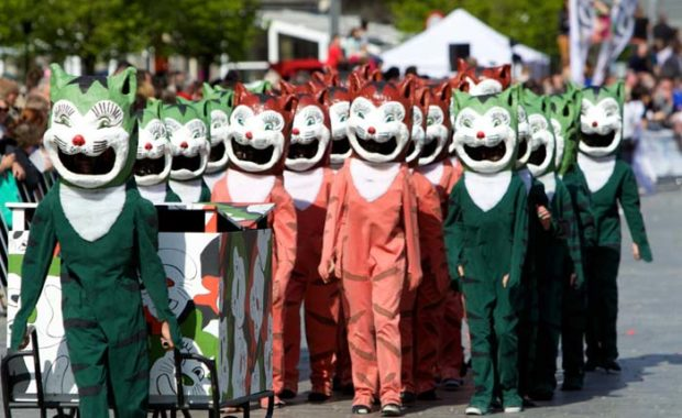 Ypres cat festival 2015