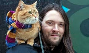 street cat Bob and other famous cats