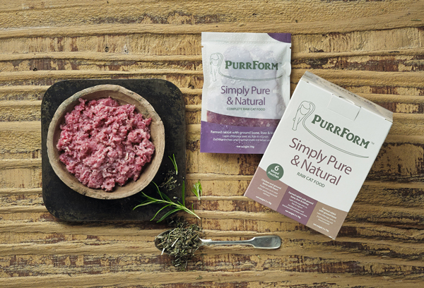 PurrForm complete raw cat food diet review