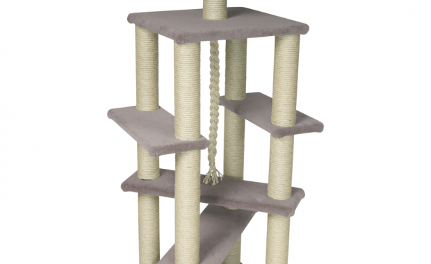 review of kalven deluxe gym cat climber